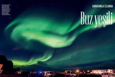 """Atlas Dergisi, """"Karavanla İzlanda"""", Şubat 2019"""