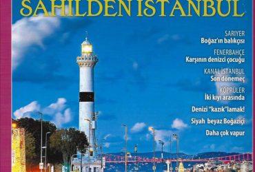 """Atlas İstanbul, Kapak Sayfası """"Ahırkapı Feneri"""", Aralık 2017"""