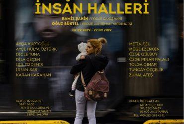 """""""Şehrin İnsan Halleri"""" Sergisi, Eylül 2019 – İFSAK (Sergi Danışman Yrd.)"""
