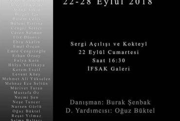 """""""Doğal Işıkta Portre"""" Sergisi, Eylül 2018 – İFSAK"""