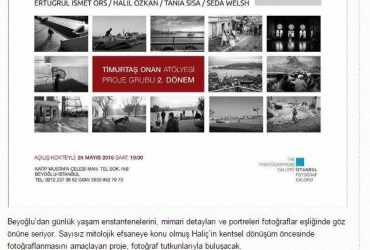 """""""Haliç ve Semtleri"""" Sergisi, Mayıs 2016 – İstanbul Fotoğraf Galerisi"""
