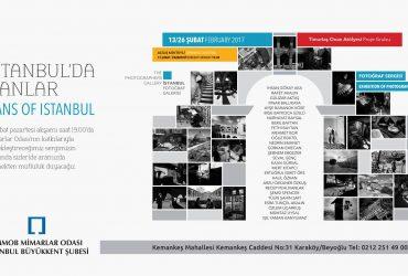"""İstanbulda Hanlar"" Sergisi, Şubat 2017 –  Mimarlar Odası"