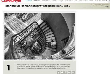 İstanbul'da Hanlar Sergisi – Basında yer alan haberler
