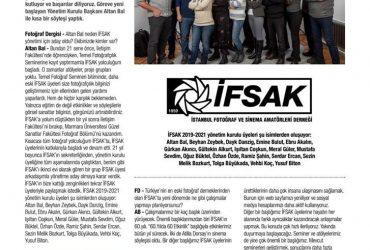 İFSAK'ta yeni yönetim göreve başladı – Fotoğraf Dergisi – Nisan 2019