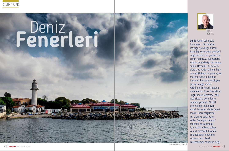 Fotoğraf Dergisi Aralık 2019-Ocak 2020 Sayısı: Deniz Fenerleri
